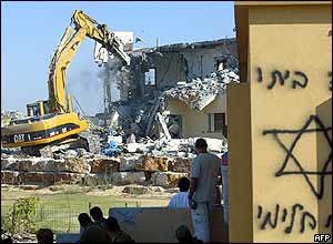 Bulldozing Netzarim