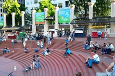 portland ground Pioneer Square, Weekend Afternoon.jpg