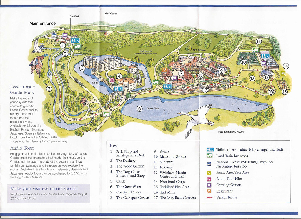 Leeds Castle Map Richard Byrom Flickr