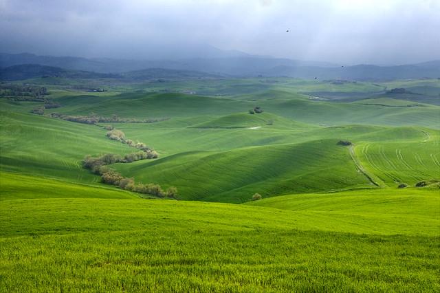 tuscan landscape color