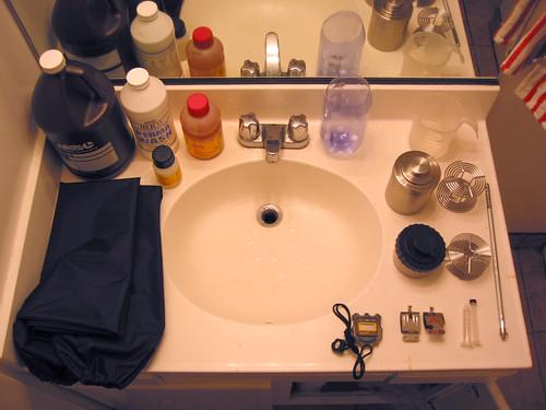 12-step bathroom-sink-darkroom program | by willsfca