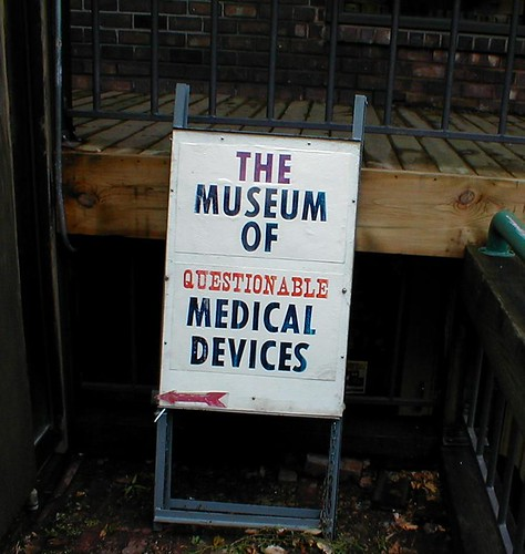 Museum of Questionable Medical Devices sign | by A.M. Kuchling