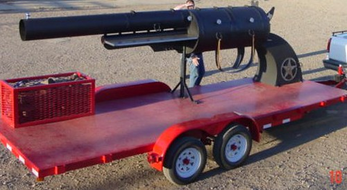 Oversized Novelty Pistol/BBQ Grill | by brykmantra