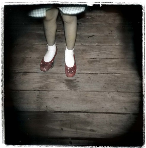 colorized dotty feet | by Laura Burlton - www.lauraburlton.com