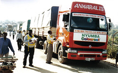 Truckstop at the Uganda / Kenya border of Malaba | by International Transport Workers' Federation