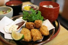 牡蠣フライ定食2 | by Una_Pan