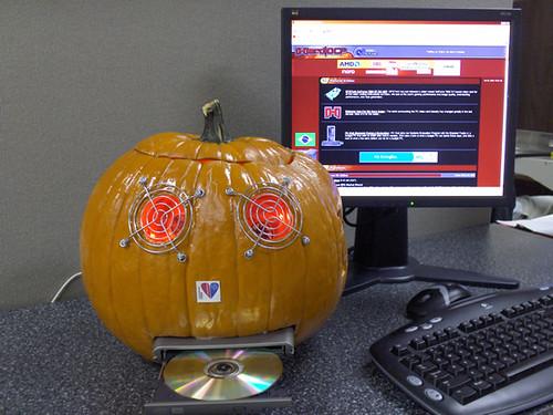 Pumpkin Case Mod | by chrismeller