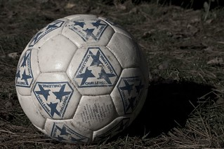 Soccer Ball in the Blue | by jbelluch