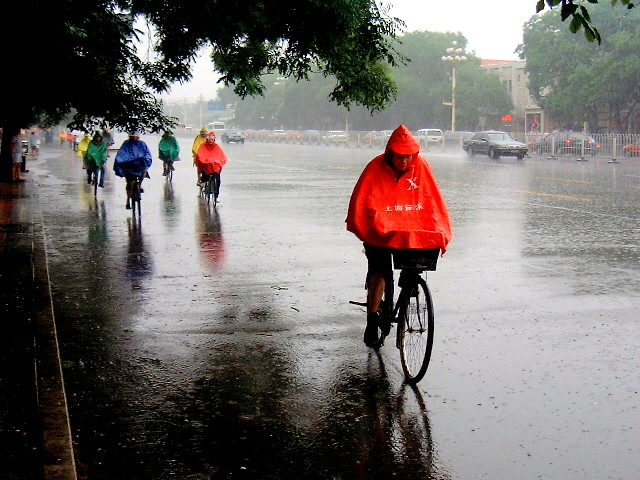 Image result for cycling in the rain