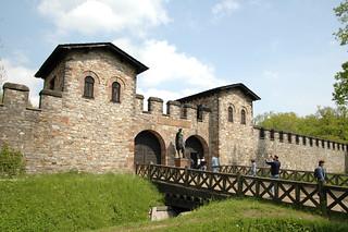 Saalburg Eingang 1