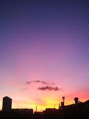 sunset at 18:11