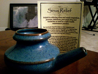 neti pot relief | by harmonli