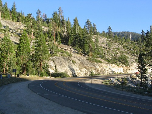 U.S. 50 Between Lake Tahoe and Placerville, California
