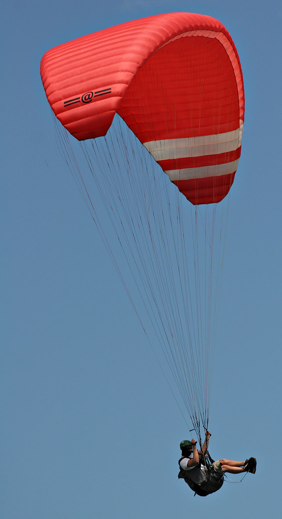 Image: Paragliding at Stanwell Tops