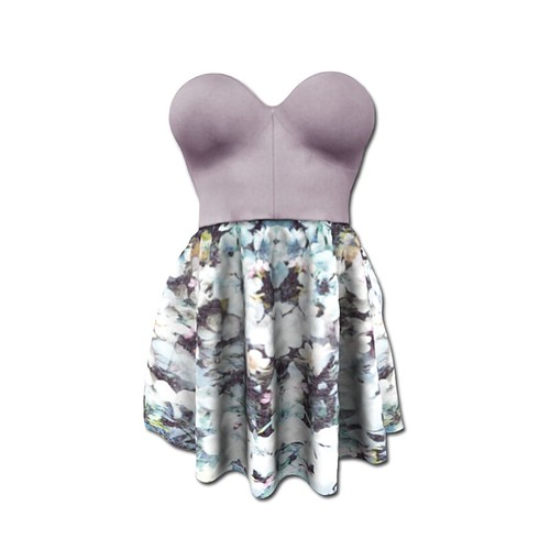 {MYNX} Marnie Dress - Lavender Floral