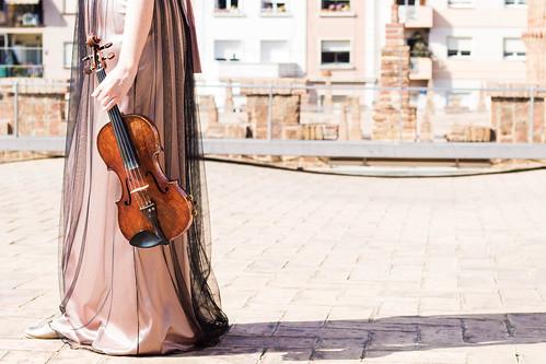 Laura Gaya,violinista