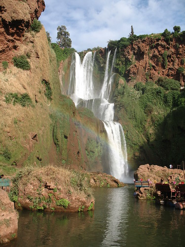 2015 africa northafrica morocco maroc almaghrib المغرب tadlaazilal تادلةأزيلال‎ waterfall river water rainbow reflection bénimellalkhénifra azilal أزيلال بنيملالخنيفرة canyon