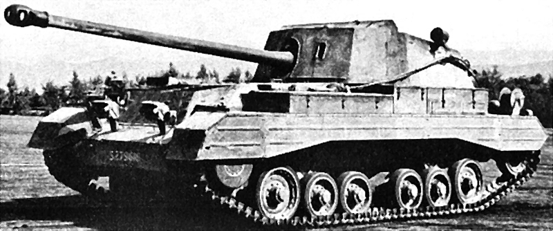 The experimental British Valentine tank