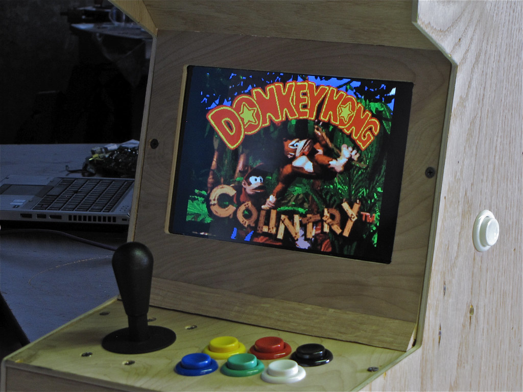 Raspberry Pi Arcade | PiCade, an arcade emulator running on … | Flickr