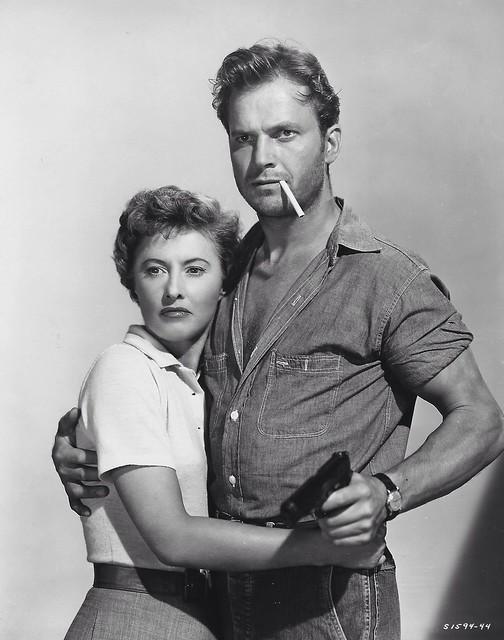 Barbara Stanwyck, Ralph Meeker