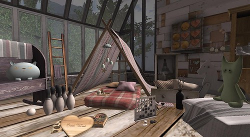 Serenity Style: Angel Summer Tent- The Lexi Project | by Hidden Gems in Second Life (Interior Designer)