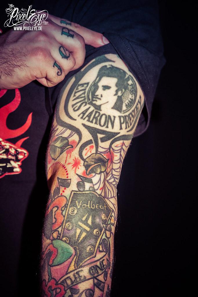 Michael tattoos volbeat poulsen Volbeat Interview