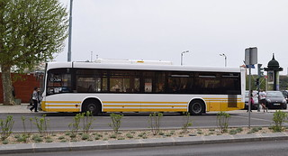 Coimbra, central Portugal: SMTUC Volvo B7RLE/Marcopolo Viale, 293