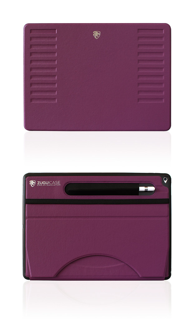 ZUGU CASE Prodigy iPad Pro 12.9 Front & Back Purple | Flickr