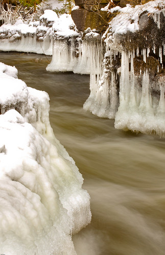 longexposure winter macro mill abandoned ice river action 100mm rapids fullframe icicles everton 5dmarkii 5dmk2 5dmark2