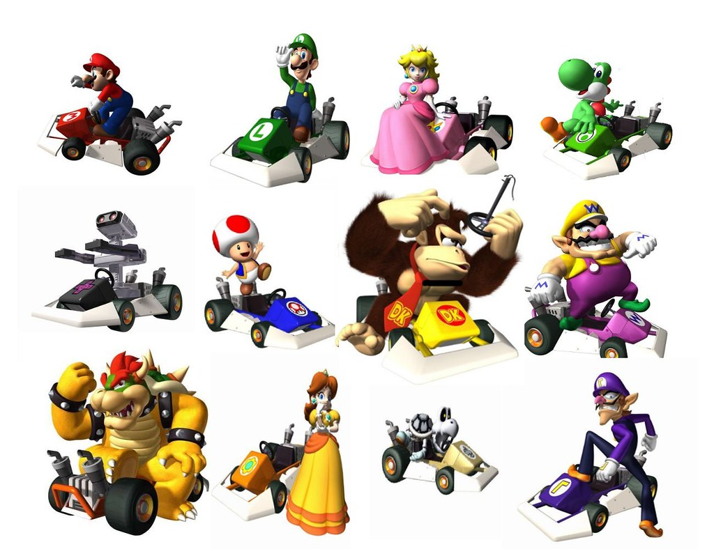 Mario Kart Ds Characters All The Characters In Mario Kart Flickr