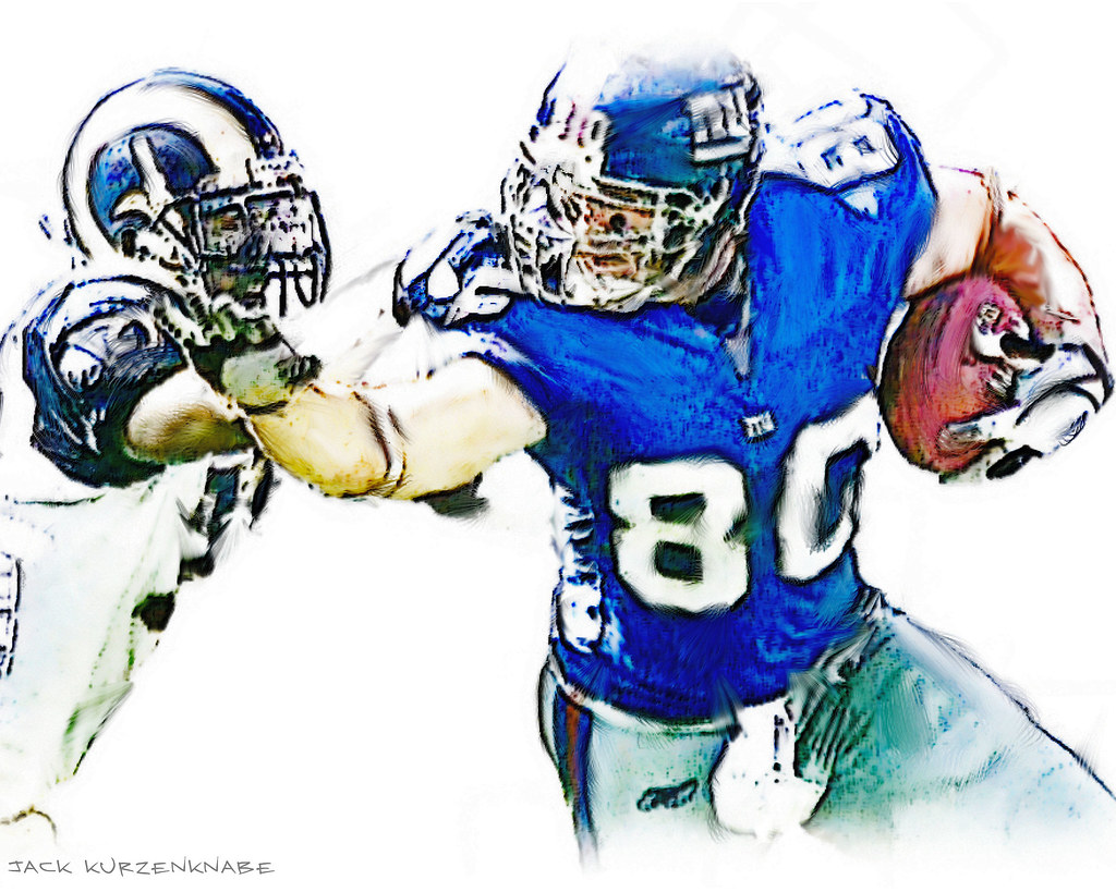 7831b446694 NY Giants Jeremy Shockey #80 | View all my NFL drawings by… | Flickr