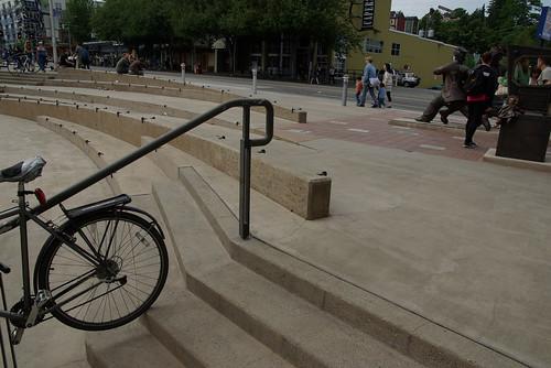 poor design in public plaza
