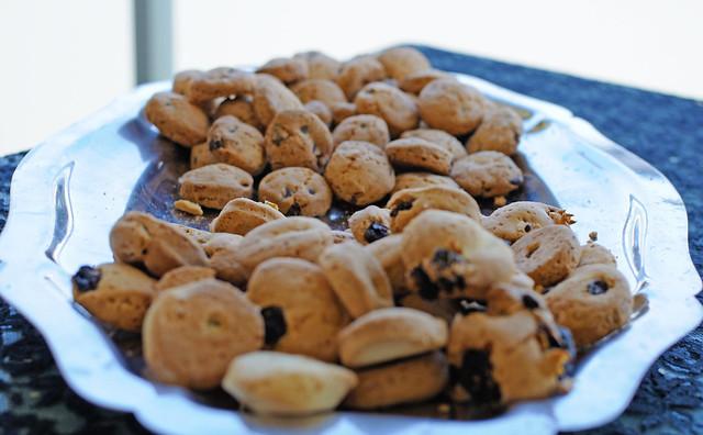 Mini Abernathy aux éclats de chocolat / Mini Abernethy with chocolate chips