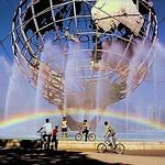 Rainbow at the Unisphere