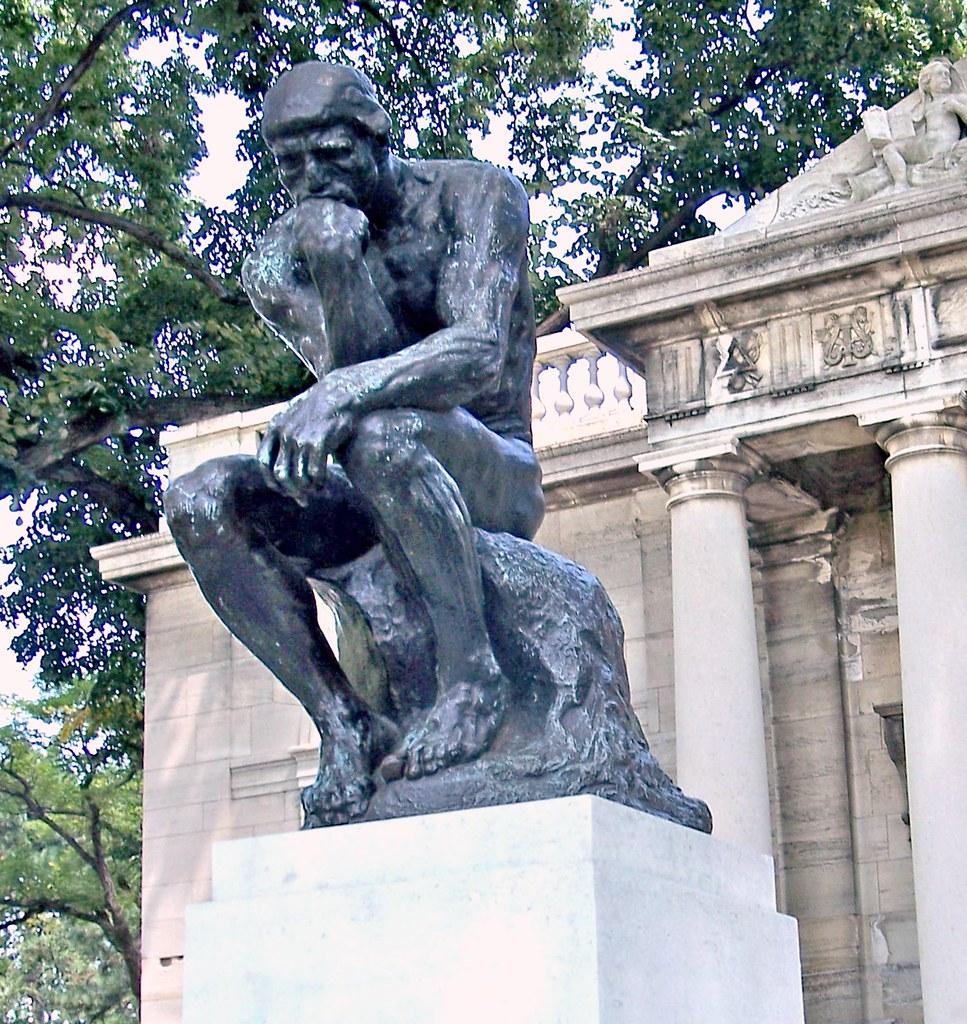 Philly08h14 The Thinker Philadelphia Pa Rodin Museum 200 Flickr