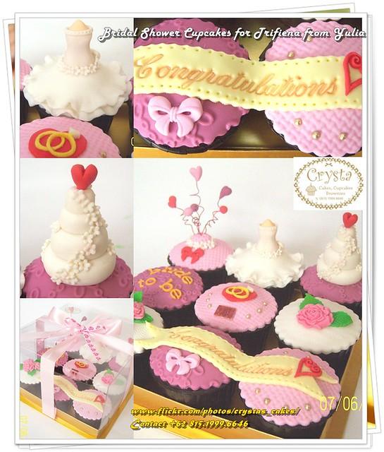 Bridal Shower Cupcakes Set