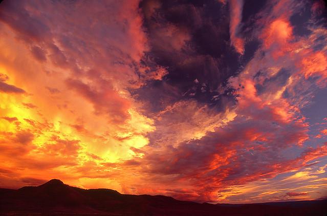 Flaming Gorge Sunset
