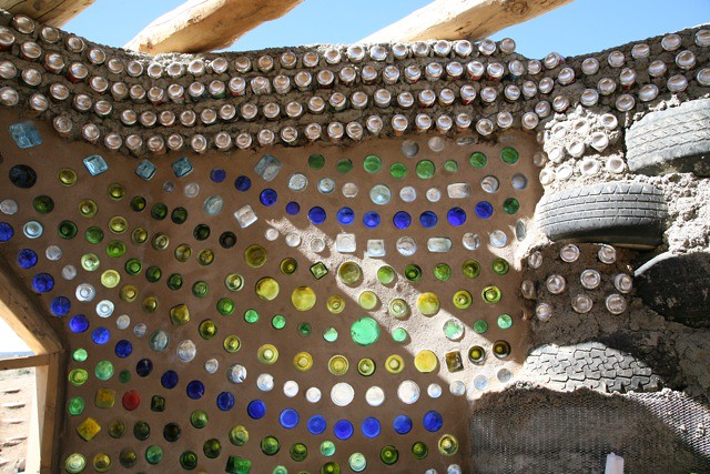 EVE Earthship Project bottle detail