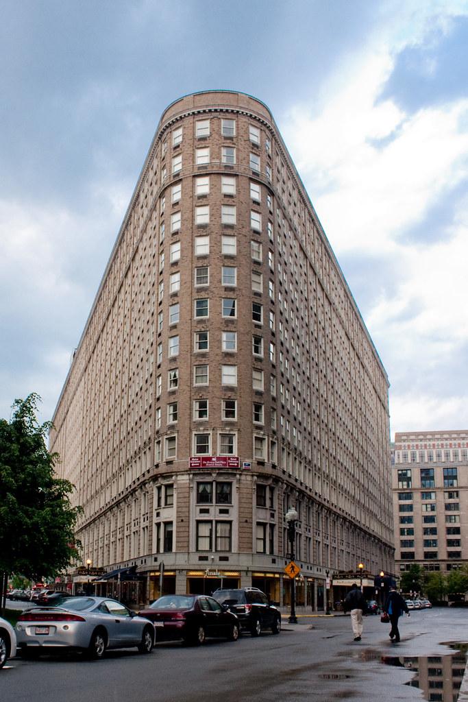 Boston Park Plaza Hotel Towers Former Statler Hotel Bui Flickr
