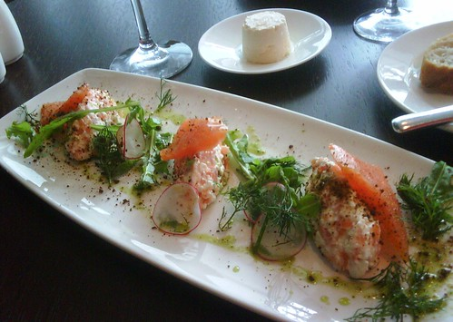 Artic Chard, Smoked Trout, Cottage Cheese, Dill, Cracked Pepper | by Patty Mitchell