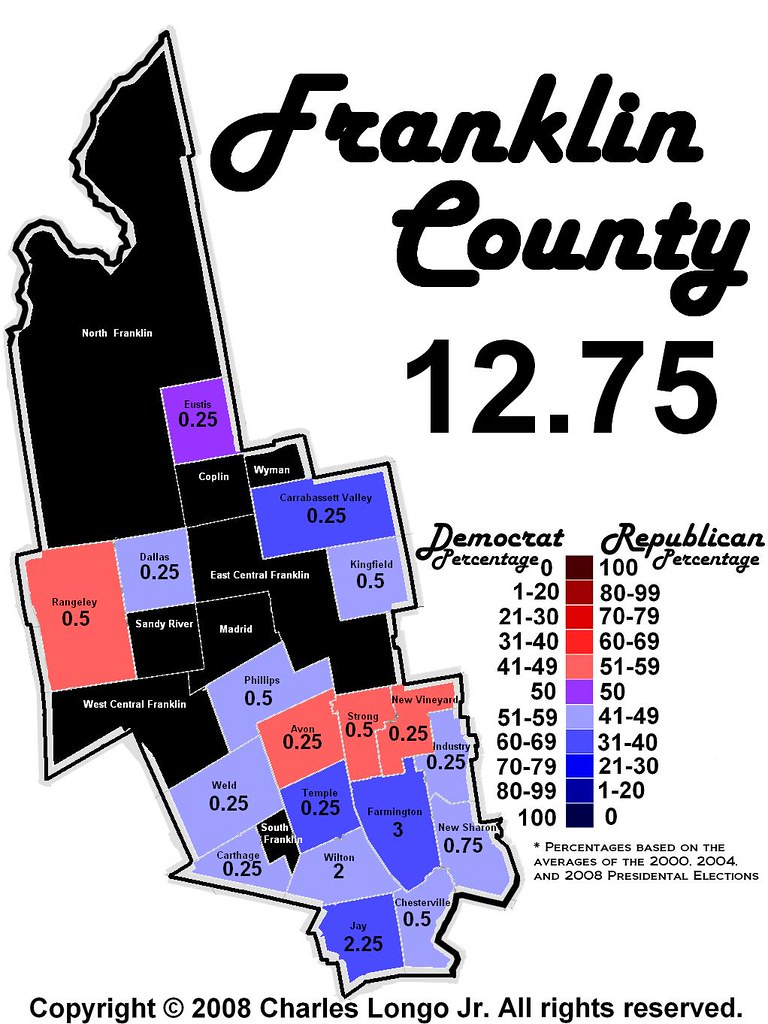 map of franklin county maine Franklin County Maine Political Map Franklin County Is Flickr map of franklin county maine