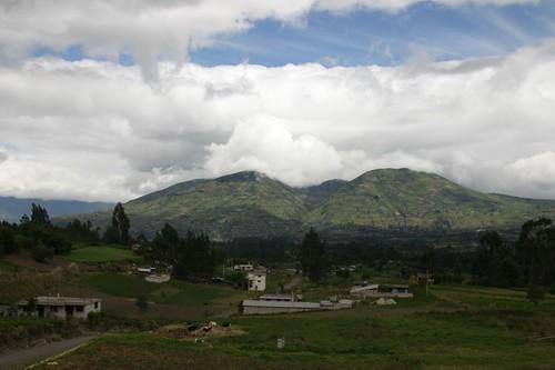 Rolling farmland in central Ecuador... | by Nicolai Bangsgaard