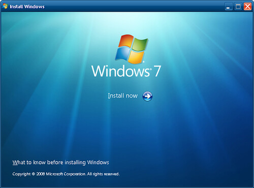 how to install windows 7 online