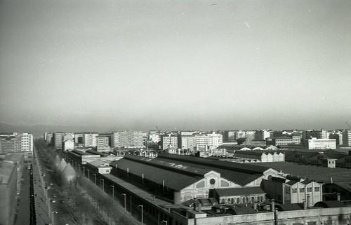 Milano, fabbrica Alfa Romeo del Portello - Febbraio 1959