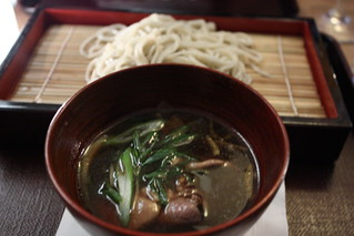 matsugen seiro soba with duck broth | by goodiesfirst