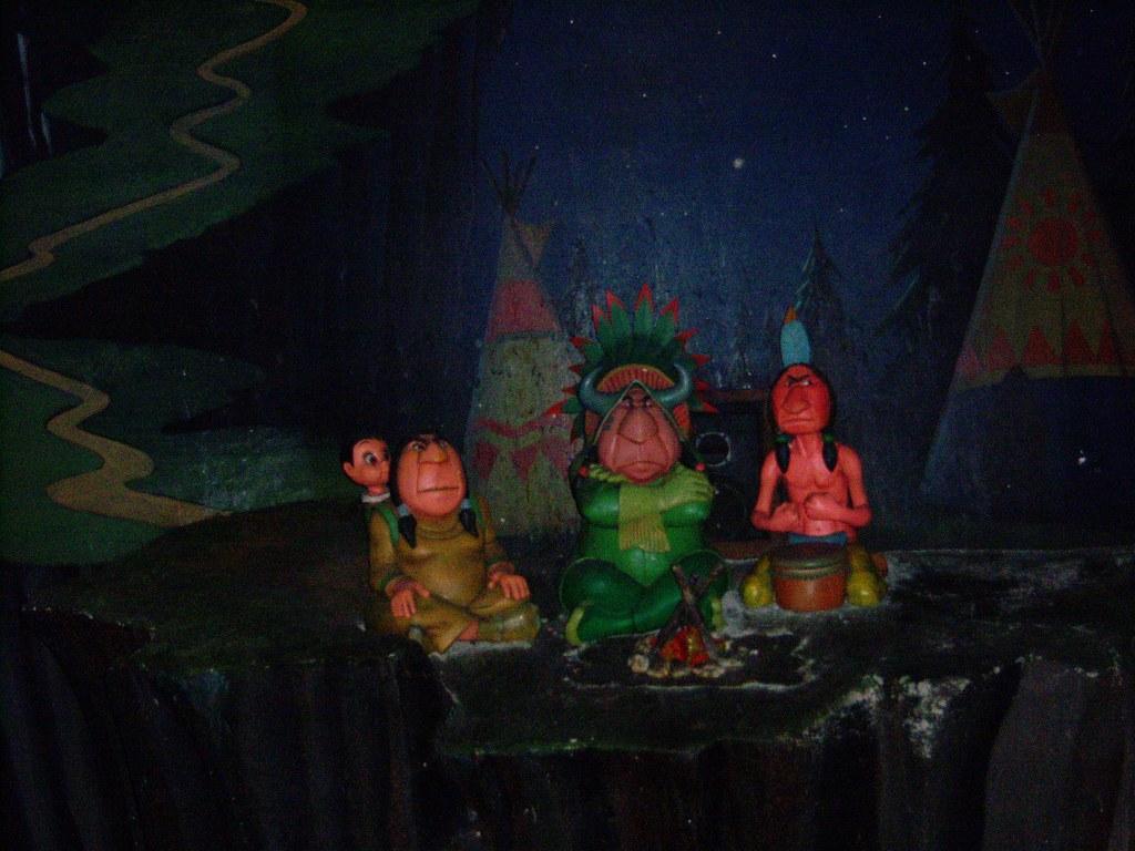 Indian Village on Peter Pan's Flight | Loren Javier | Flickr