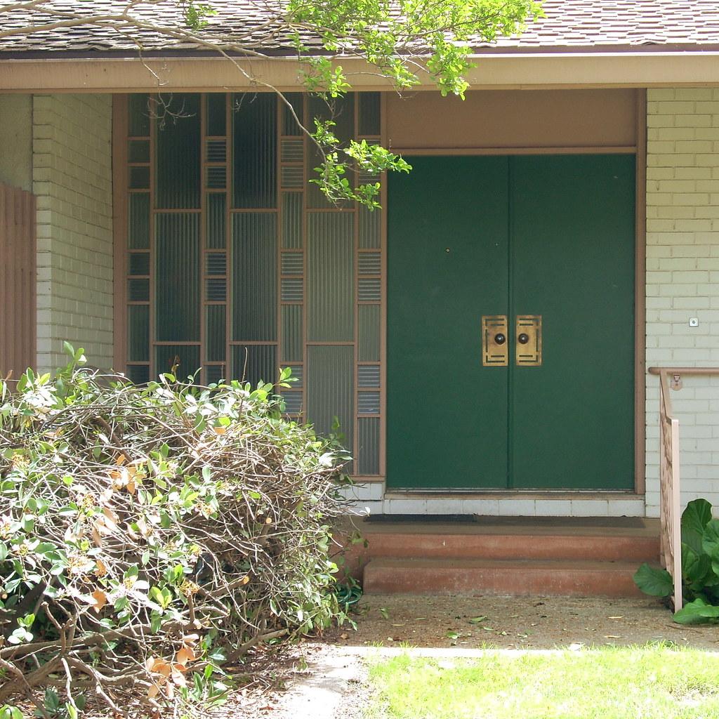 Century Modern: Mid Century Modern Front Door