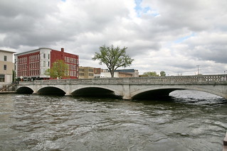 Rock River - Downtown Janesville | by cliff1066™