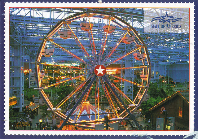 Mall of America Ferris Wheel Postcard