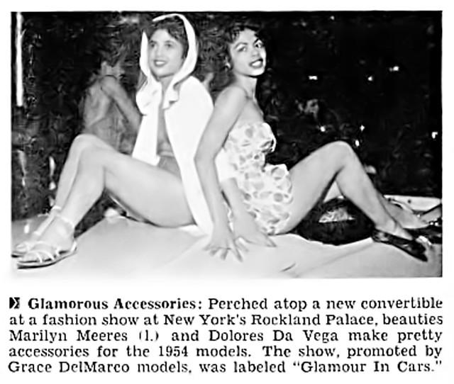 Delores Da Vega - Now On the Reality Show, She's Got the Look - Jet Magazine, April 29, 1954